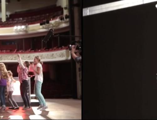 Film o tym jak powstał spot wizerunkowy wiosennej ramówki TVN 2015