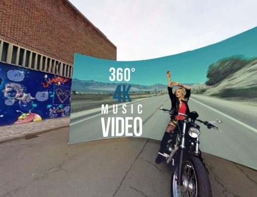 Teledysk sferyczny 4K 360°. Sam zdecyduj co chcesz oglądać!