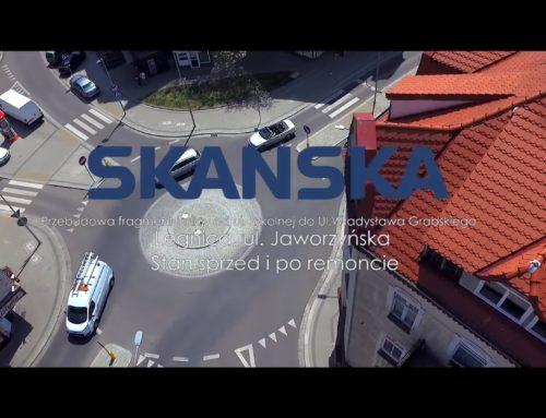 Skanska – remont ul. Jaworzyńskiej w Legnicy