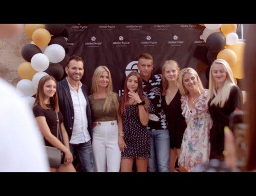 Atelier Fryzur Janina Galstyan | film z otwarcia